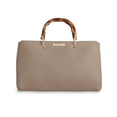Handtas Avery Bamboo taupe